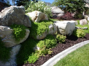 Custom Landscape & Rock Retaining Wall Design in Utah