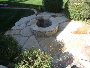 Custom Outdoor Fire Pit Design in Utah