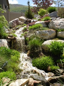 Custom Outdoor Water Feature Design in Utah